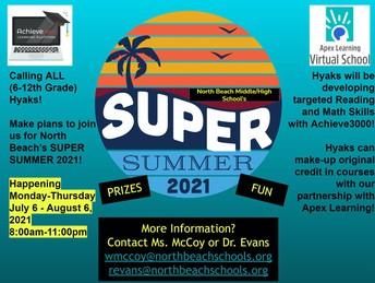 Summer School Starts - Now!