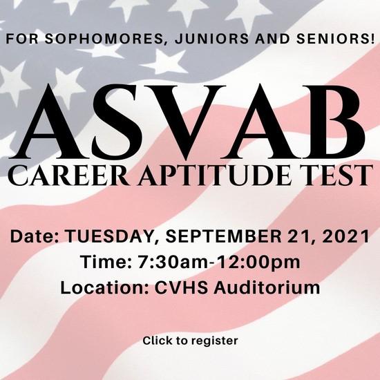 ASVAB Test Registration