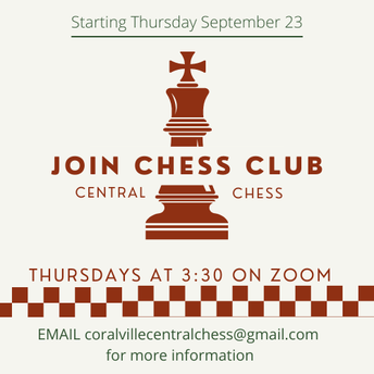Coralville Central Chess Club