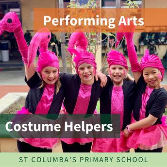Catholic Performing Arts Festival - Costume Helpers