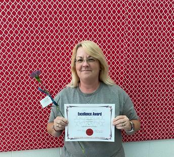 Sonya Redden- Staff Member of the Month