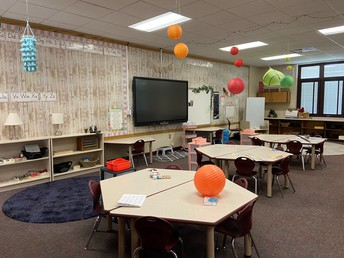 Classroom's ready for students