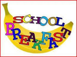 Breakfast is available BEFORE school.