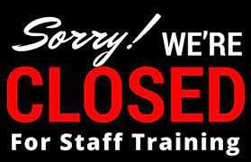 Offices closed Monday and Tuesday