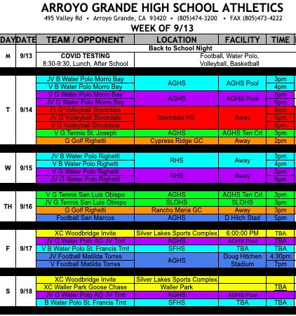 Week of Athletics