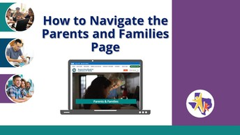 How to Navigate the Parents and Families page