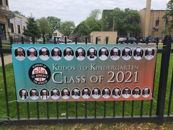 Kindergarten Class of 2021