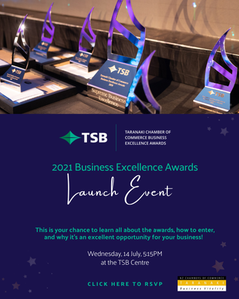 The Taranaki Business Excellence Awards are an unmissable opportunity to be recognised, to learn and a platform to network.