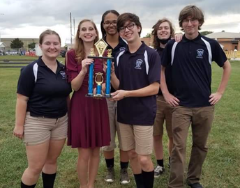 SCHS Band 3rd place
