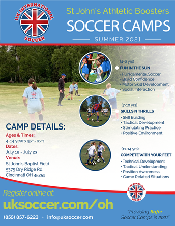 U.K. International Soccer Camp