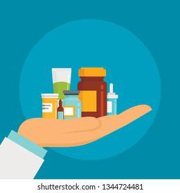 Medicine Distribution at School