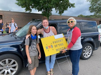 August Parent Champion of the Month