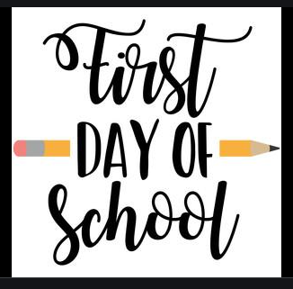 August 16, 2021 1st Day of School      - School Hours are from 9am to 4:30 pm