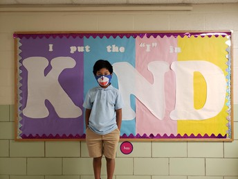 Ms. Robbins' class is showing KINDNESS!