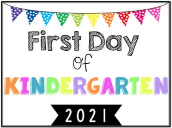 First Day for Kindergarteners