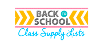 Classroom Supply List:  21/22 School Year