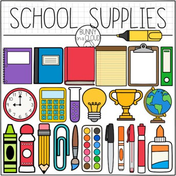 School Supplies for Next School Year
