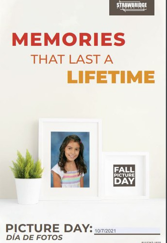 Fall Picture Day is Thursday, October 7