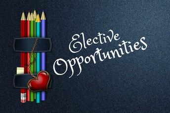 Open Enrollment for K-8 electives