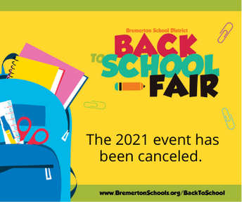 No Back-to-School Fair this year