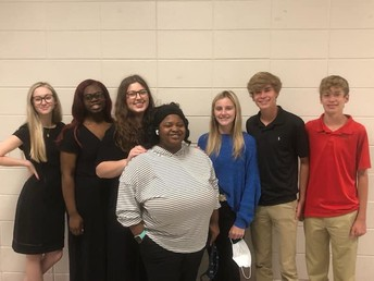 CCHS Students Compete at Region Literary