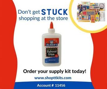 School Supply Kit Order