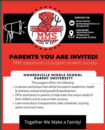 MMS Parent University