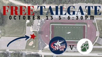FREE TAILGATE - NHS vs WHS October 15th
