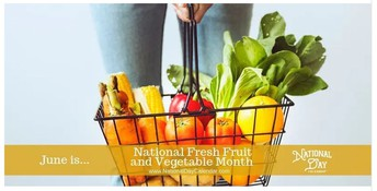 National Fresh Fruit and Vegatables Month