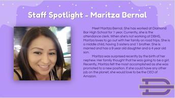 Meet Maritza Bernal