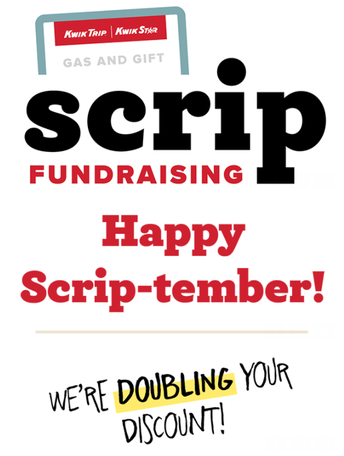 September Scrip Sale