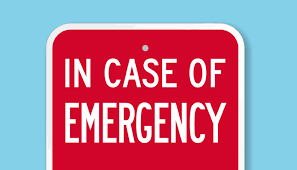 If your student is involved in an emergency....