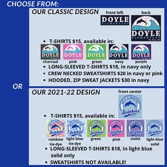 Doyle Spirit Wear