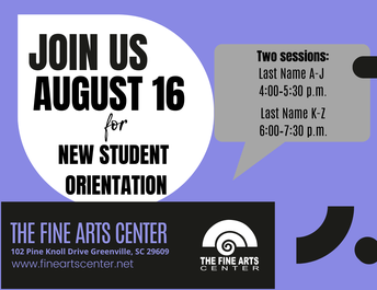Orientation for New FAC Students
