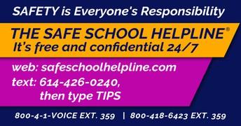 Safe Schools Hotline