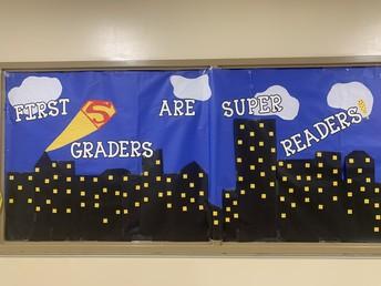1st Grade  -- Super Readers
