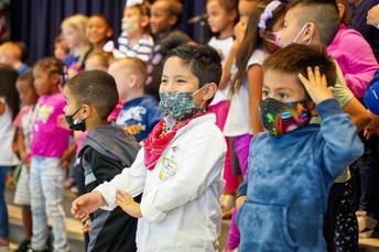 Hispanic Heritage Month Assembly
