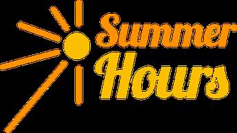 Summer Building Hours at AVHS