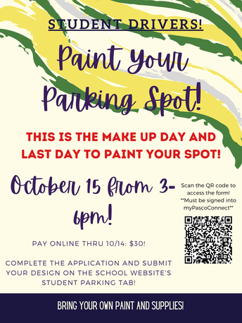 Paint Your Parking Spot Make Up Day