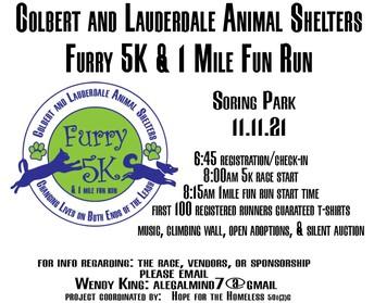 Furry 5K & 1 Mile Fun Run