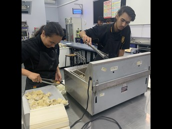 Year 13 Catering Class