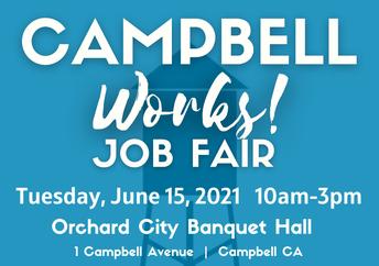 Job Fair June 15th 10am-3pm