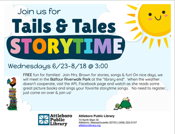 Tails & Tales Storytime
