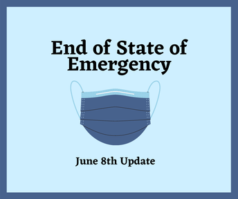End of the State of Emergency