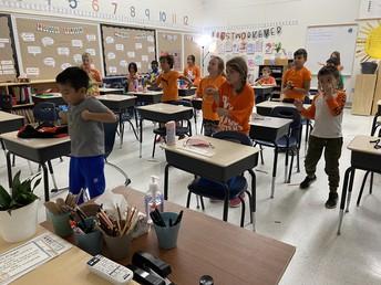 2/3  Orange Shirt Day and Mindful Movement Activity