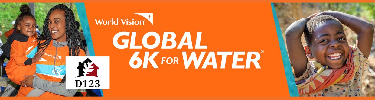 Register Today for the 6K Run/Walk with World Vision at OLHMS on September 16th!