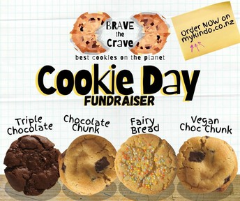 Brave the Crave Cookie Day fundraiser beginning 21 June 2021