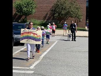 CES 4th Grade Parade