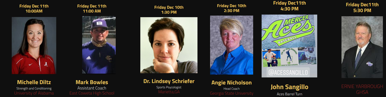 SPEAKERS LIST CAN BE FOUND ON OUR WEBSITE BY CLICKING HERE