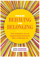 From behaving to belonging, supporting students who challenge us - Facilitated by Candice Casey
